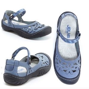JBU Jambu Wildflower Sport Blue Shoes Size 10